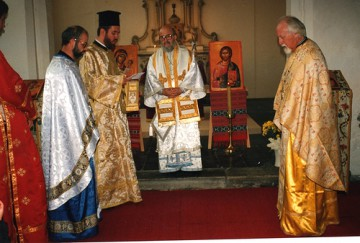 1995 de begin jaren vieringen in de Oecumenische kapel