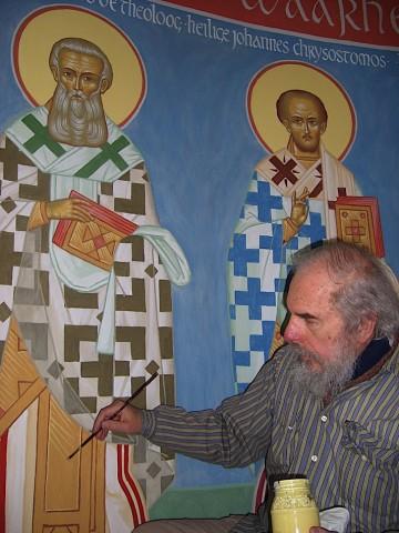 2008 2009 Schilderen van frescos in onze kerk