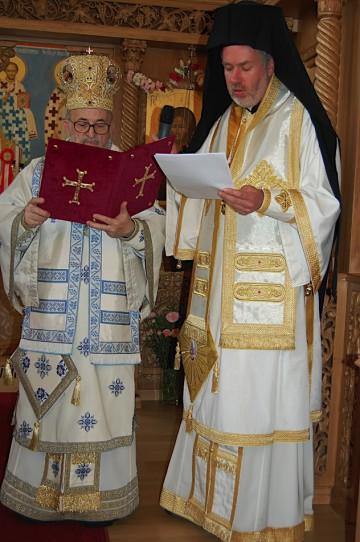 24 mei 2008 Goddelijke Liturgie na de kerkwijding
