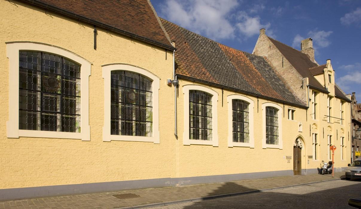 Sint-Joosgodshuis, Brugge, voor omd-boek, Davidsfonds