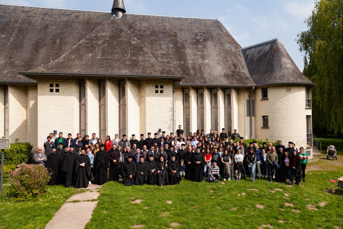 Priest and youth Gathering of the Metropolis of Benelux (1.5.2019)