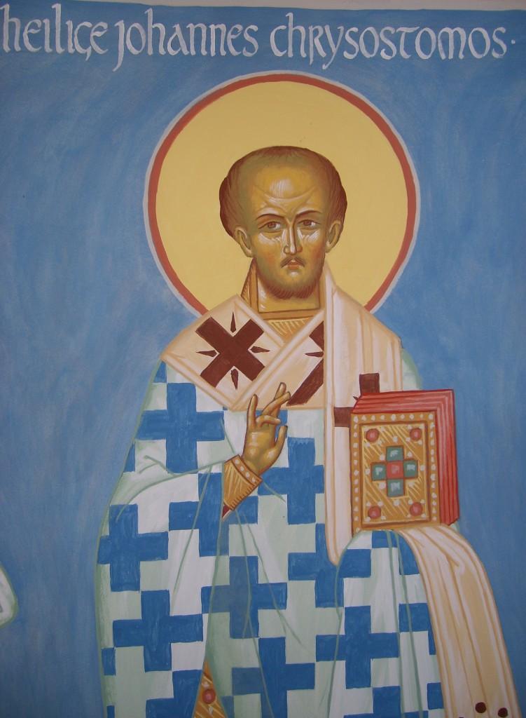 Heilige Johannes Chrysostomos van Constantinopel